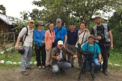One of Rockjumper's Ecuador birding tour groups