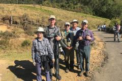 Rockjumper's 2018 India birding tour group at Eravikulam National Park