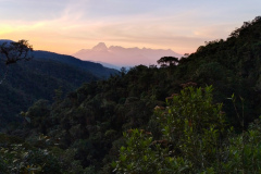 Scenic view from Las Tangaras Reserve in Colombia