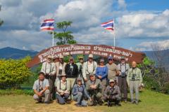 Rockjumper's 2018 Thailand birding tour group