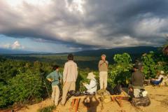 Rockjumper's 2018 West Papua birding tour group at Nimbokrang