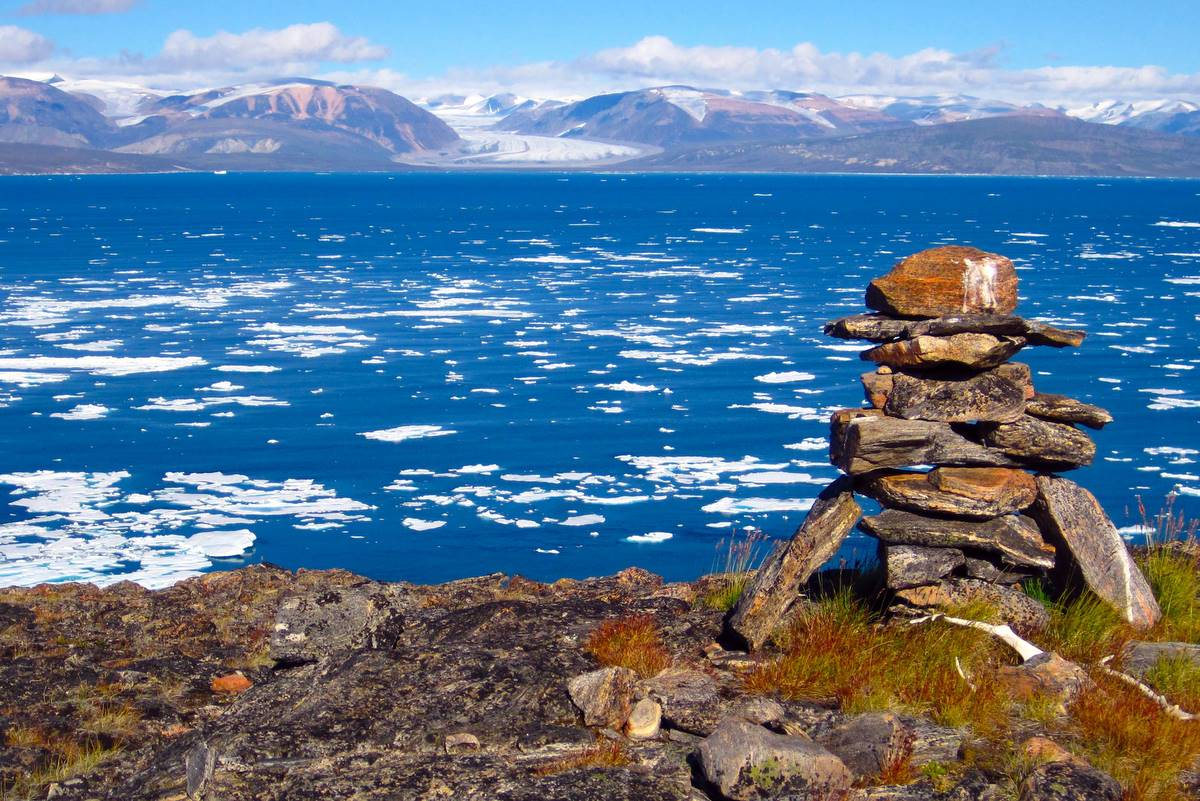 Canadian Arctic Scenery by Boris Wise