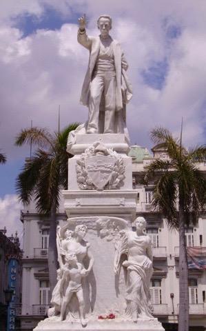 Jose Marti statue, Havana © Clayton Burne
