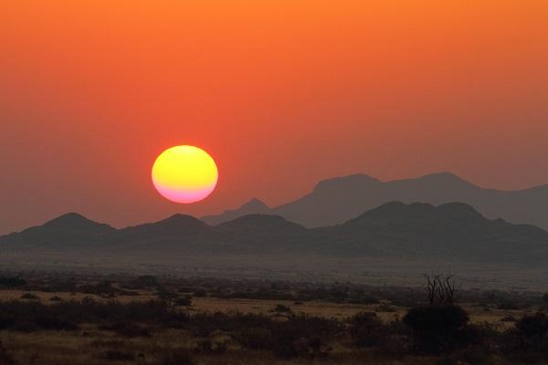 Spreetshoogte Pass sunset