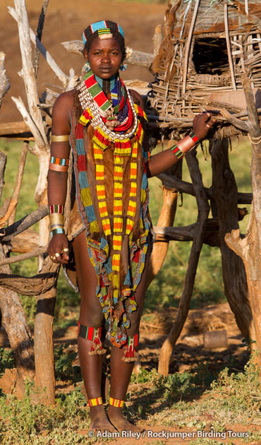 A young Hamar woman