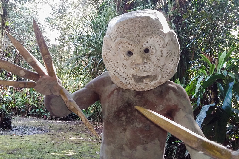 Asaro Mudmen by Gareth Robbins