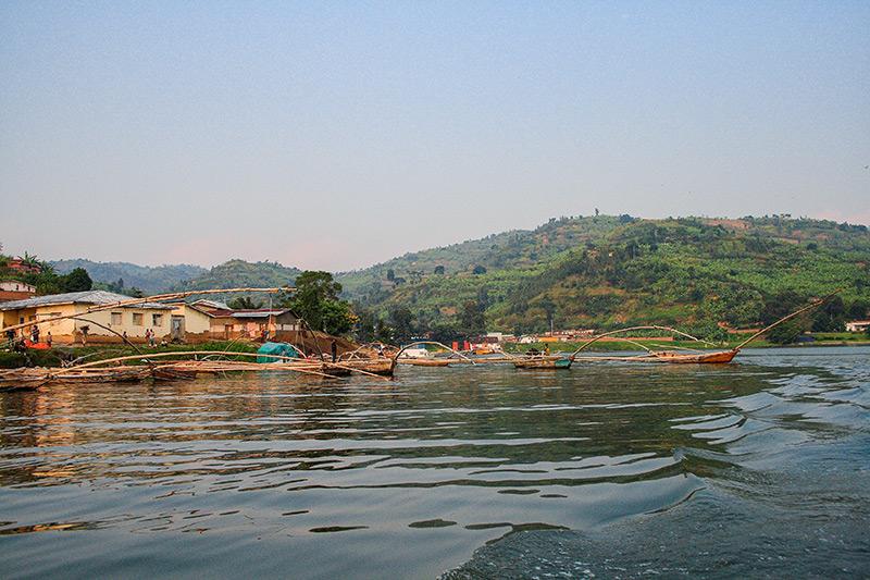 A beautiful day on Lake Kivu by Keith Valentine